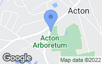 Map of Acton, MA