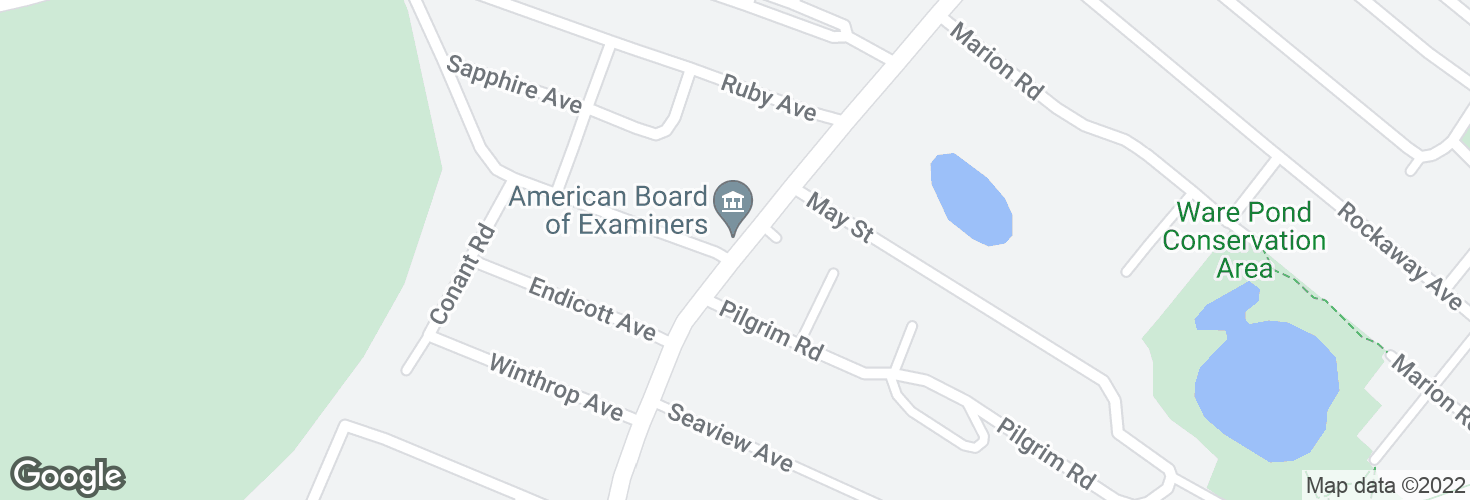 Map of Humphrey St @ West St and surrounding area