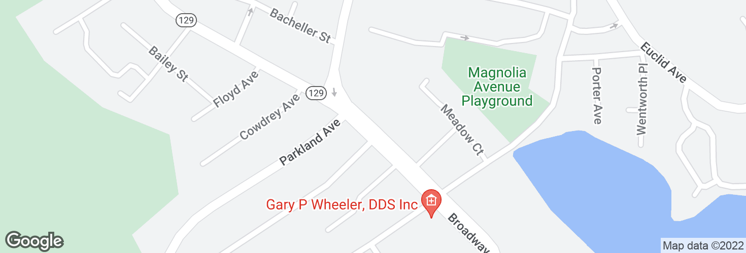Map of Broadway opp Richardson Rd and surrounding area