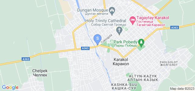 Location of Madanur on map