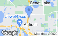 Map of Antioch, IL