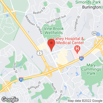 Map of Sprint at 91 Middlesex Tpke, Burlington, MA 01803