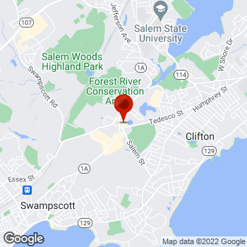 Map of Staples® Print & Marketing Services at 17 Paradise Road, Salem, MA 01970