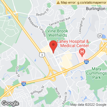 Map of Dr. Doug Haigh, Optometrist, and Associates at 101 Middlesex Turnpike, Burlington, MA 01803