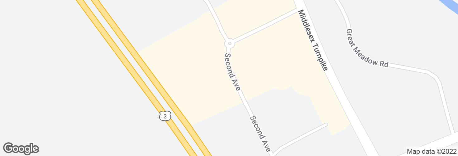 Map of Opp 62 Second Ave and surrounding area