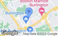 Map of Burlington, MA