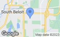 Map of South Beloit, IL