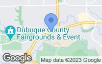 Map of Dubuque, IA