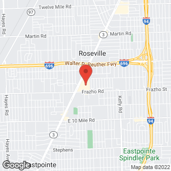 Map of Check `n Go at 26210 Gratiot Avenue, Roseville, MI 48066