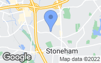 Map of Stoneham, MA