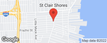 Map of 27205 Harper Ave in Saint Clair Shores