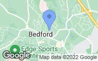 Map of Bedford, MA