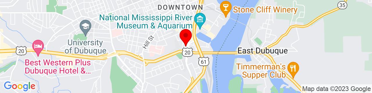 Google Map of 42.493102, -90.66558099999999
