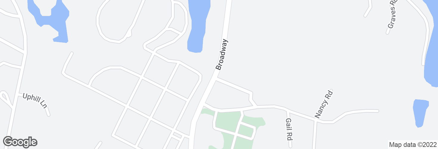 Map of Broadway @ Broadway Circle and surrounding area