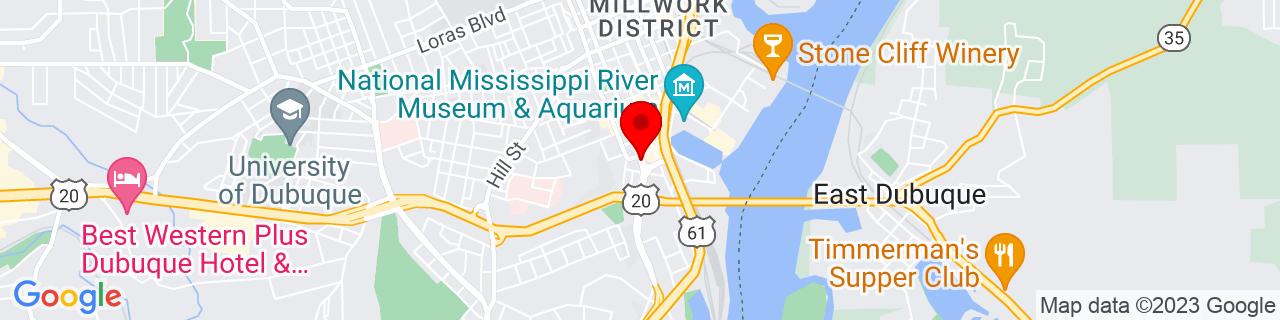 Google Map of 42.4943443, -90.66512019999999