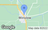 Map of Winslow, IL