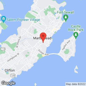 Map of Benjamin Weintraub, MD at 70 Atlantic Avenue, Marblehead, MA 01945