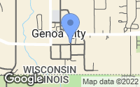 Map of Genoa City, WI
