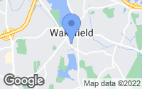 Map of Wakefield, MA