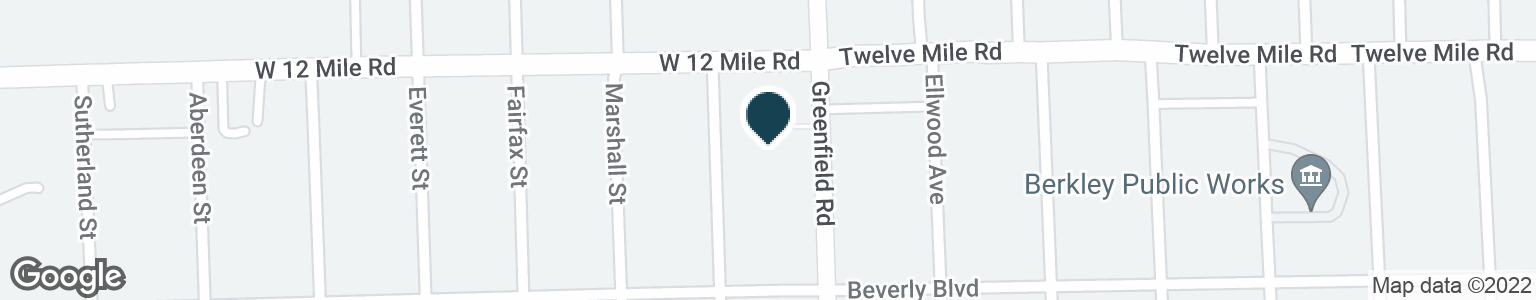 Google Map of28901 GREENFIELD RD