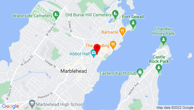 Google Map of 170 Washington Street, Marblehead, MA 01945