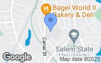 Map of Salem, MA
