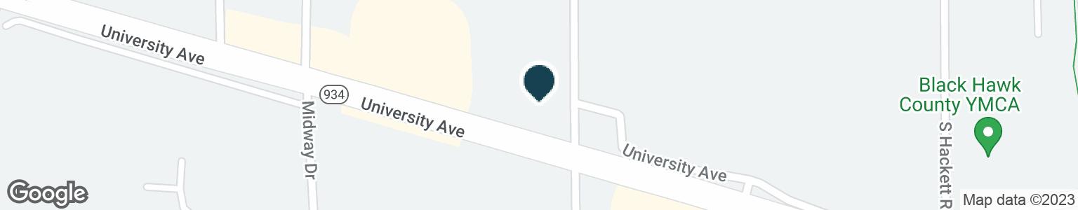 Google Map of3910 UNIVERSITY AVE