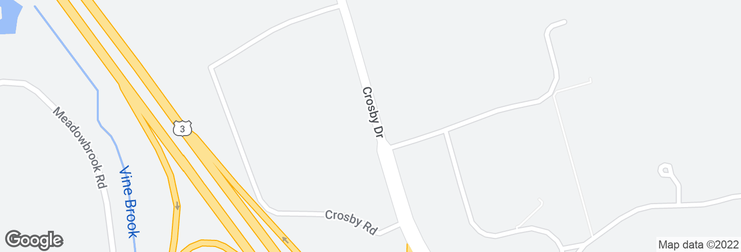 Map of 4 Crosby Dr and surrounding area