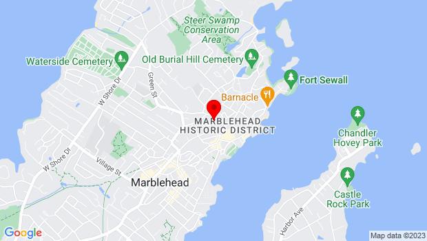 Google Map of 28 Mugford Street, Marblehead, MA 01945