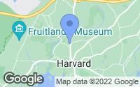 Map of Harvard, MA
