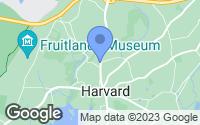 Map of Harvard, MA
