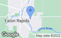 Map of Eaton Rapids, MI
