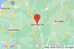 Map of Springville
