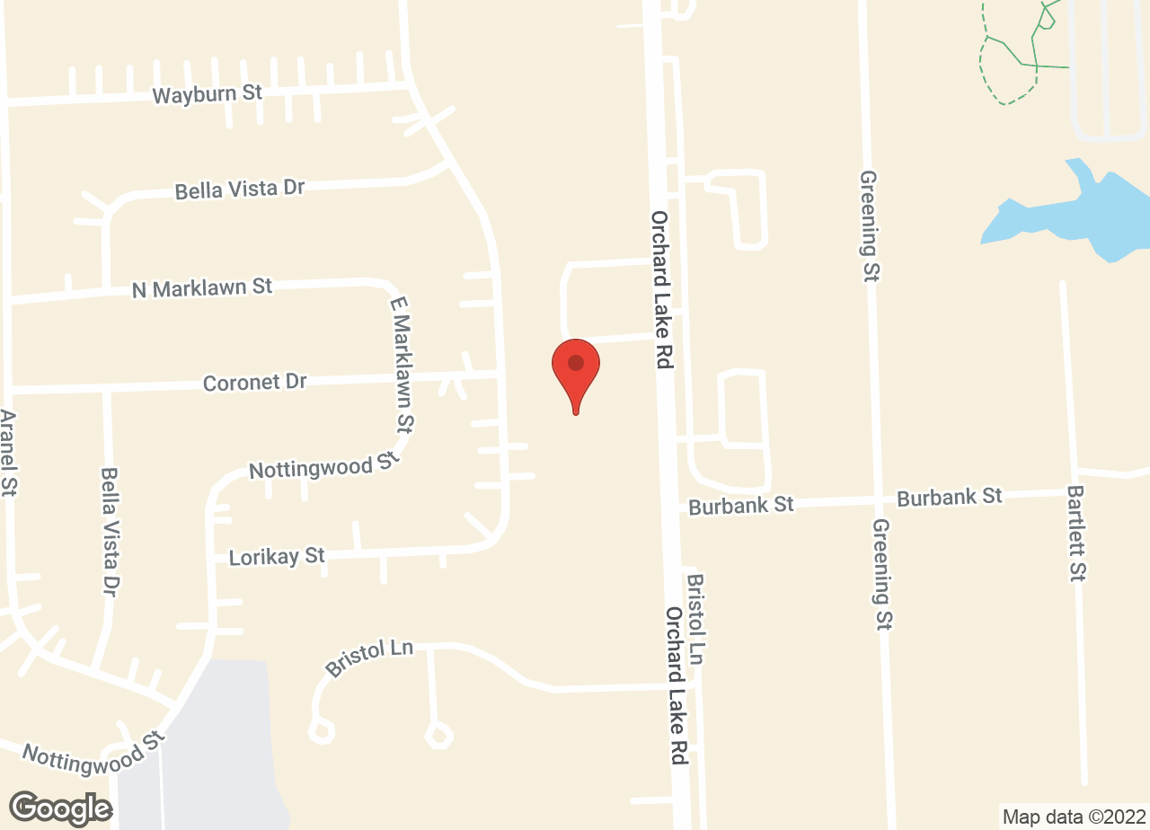 Google Map of VCA Farmington Hills Animal Hospital