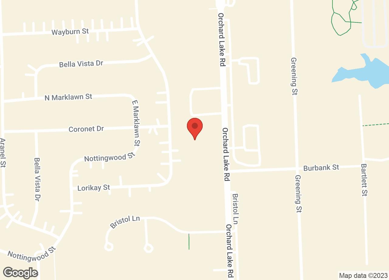 Google Map of VCA Farmington Hills Animal Hospital