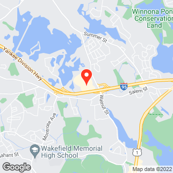Map of LOFT at 427 Walnut Street, Lynnfield, MA 01940