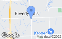 Map of Beverly Hills, MI