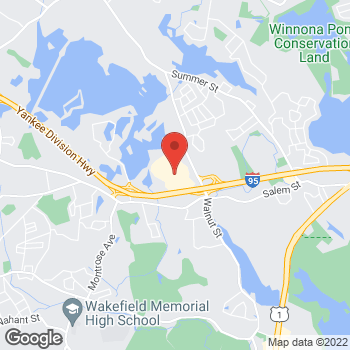 Map of Panera Bread at 430 Market Street, Lynnfield, MA 01940