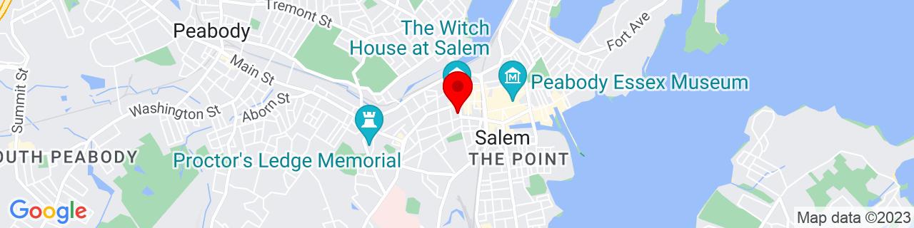 Google Map of 42.5203149, -70.898833