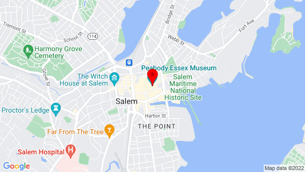 Google Map of 161 Essex Street, Salem, MA 01970