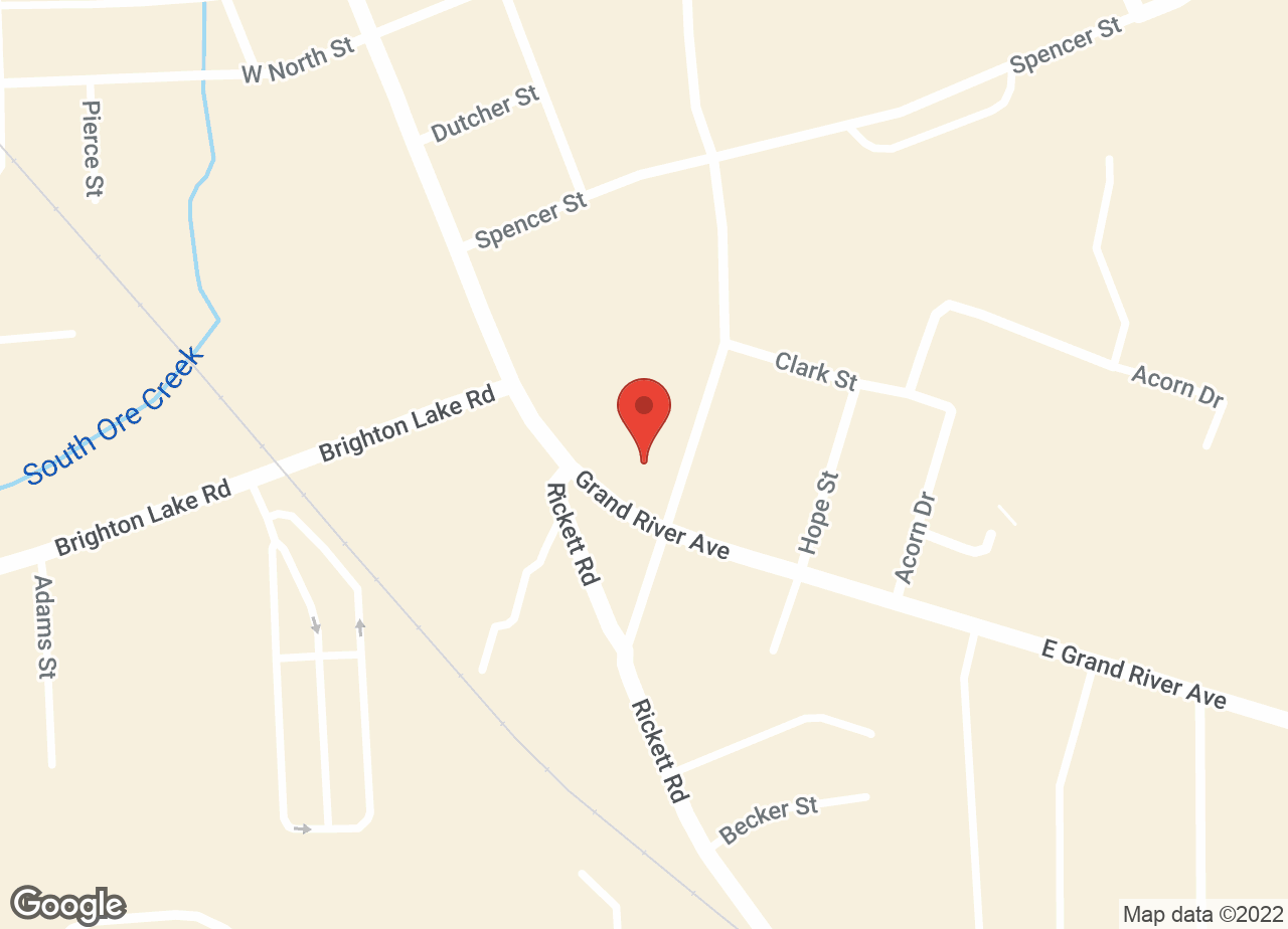 Google Map of VCA Brighton Animal Hospital