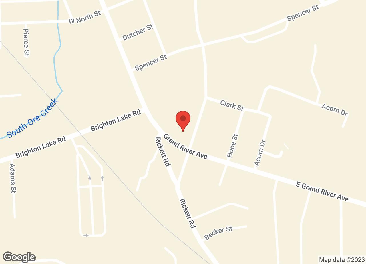 Google Map of VCA Brighton Animal Hospital
