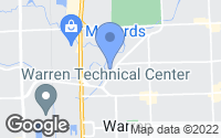 Map of Warren, MI