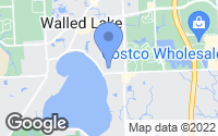 Map of Walled Lake, MI