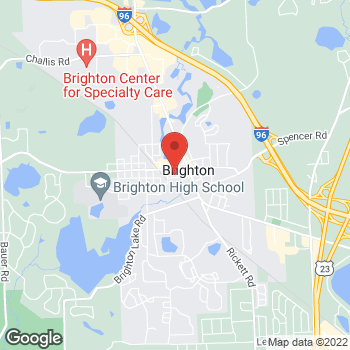 Map of Fifth Third Mortgage - Christina Wright at 300 West North Street, Brighton, MI 48116