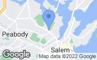 Map of Salem, MA