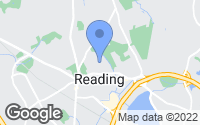 Map of Reading, MA