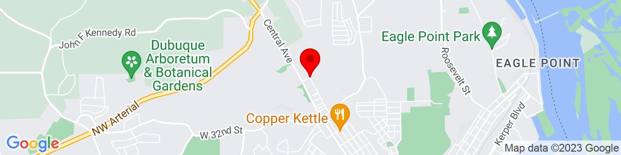 Google Map of 42.5328352, -90.6848425