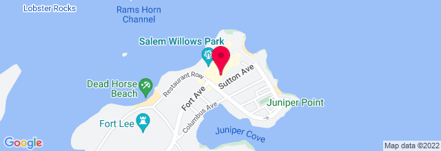 Map for Salem Willows