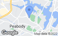 Map of Peabody, MA